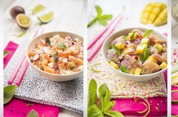 Commandez les Céviches de Planet Sushi au déjeuner