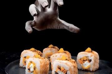 Commandez votre plat d'halloween chez Planet Sushi