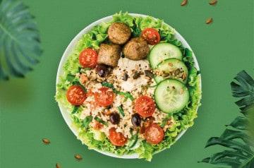 Comme une envie de salade veggie chez Class'croute