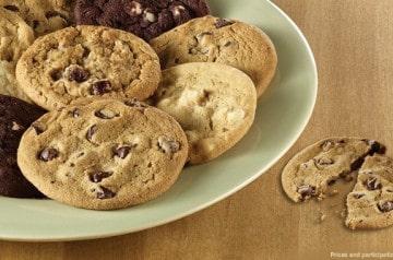 Cookies et brownies chez Subway