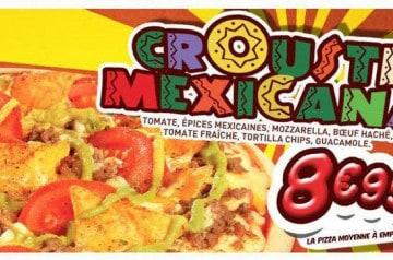 Crousti Mexicana La Boîte à Pizza