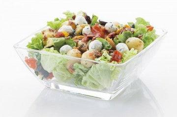 De la salade chez Class'croute après les fêtes de Pâques