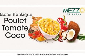 De la sauce exotique au coco chez Mezzo di Pasta