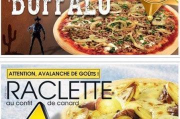 De nouvelles recettes La Boîte à Pizza