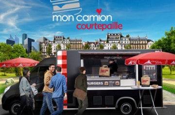 Découvrez le food-truck de Courtepaille