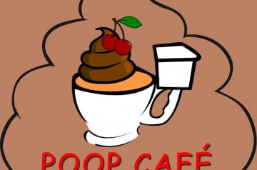 Découvrez le thème surprenant du Poop Café