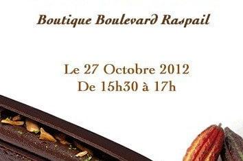 Dégustation chocolat BA RIA  chez Hugo & Victor