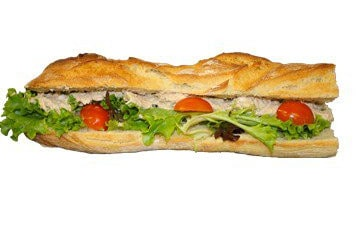 Déjeuner à la Boulangerie Marie Blachère