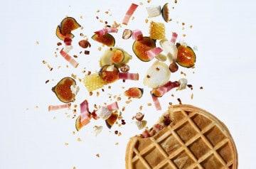 Déjeuner d'automne au Waffle Factory