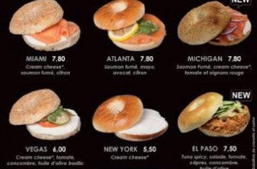 Des bagels, wraps et burgers casher chez Nina Sushi