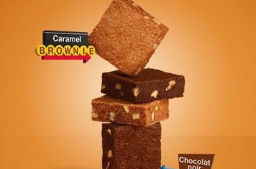 Des brownies pur beurre chez McCafé