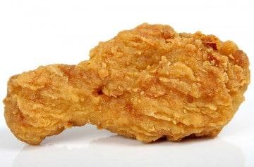 Des bûches parfumées au poulet frit pour la cheminée ?