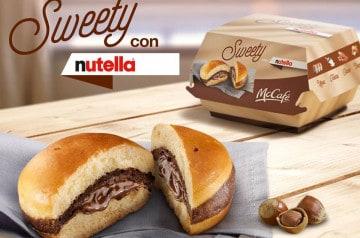 Des burgers au Nutella, c'est seulement chez McDonald's