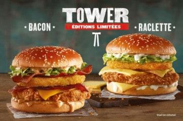 Des burgers géants à KFC