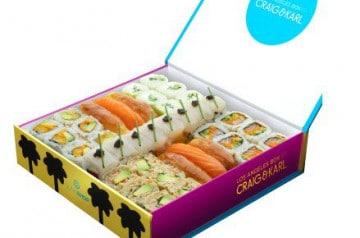Des coffrets repas chez Sushi Shop