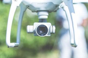 Des drones pour photographier les plats au resto ?