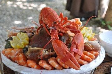 Des fruits de mer à gogo chez Pedra Alta
