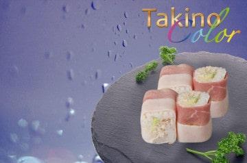 Des pièces culinaires en couleur chez Nina Sushi