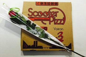 Des pizzas au jambon à goûter absolument chez Scooter Pizz