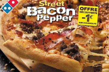 Des pizzas pour affronter l'automne chez Domino's Pizza