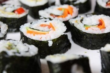 Des plats végétariens dans la nouvelle carte de Eat Sushi