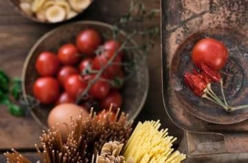 Des recettes italiennes végétariennes chez Francesca