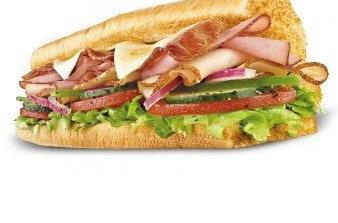 Des sandwiches au bacon