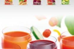 Des smoothies de légumes dans l'offre Martinet