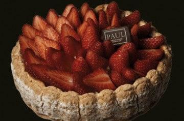 Des spécialités de fraises et framboises chez Paul