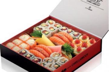 Des sushis aux couleurs de Londres chez Sushi Shop