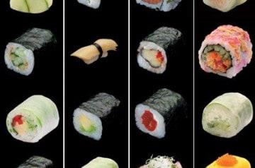 Des sushis sans viande chez Sushi Shop