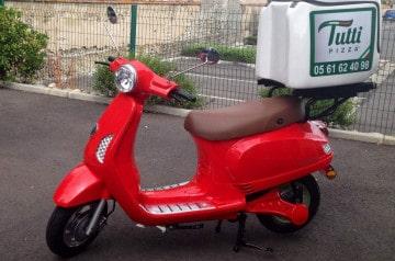 Des véhicules écologiques chez Tutti Pizza