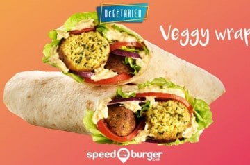 Des wraps au menu cet été 2019 au Speed Burger