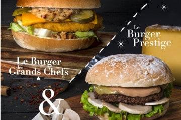 Deux burgers d'exception au Mythic Burger