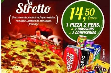 Deux menus à moins de 15 euros chez Pizza Tempo