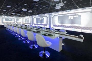 Dîner dans un univers interactif en 4D, ça vous dit ?