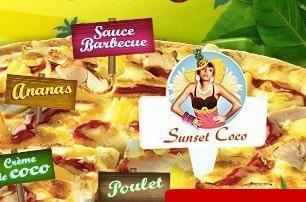 Domino's Pizza vibre sur le Sunset Coco