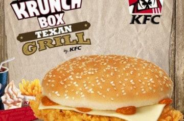 Double Krunch Texan Grill chez KFC