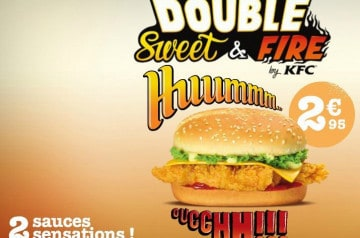 Double Sweet & Fire chez KFC