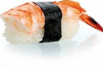 Eat Sushi cuisine la crevette
