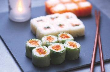 Eat Sushi et ses makis en couleurs