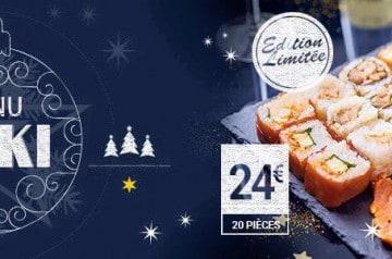 Eat Sushi: un décembre plein de couleurs et de saveurs