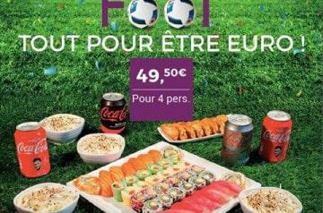 Eat Sushi vous régale pendant l'EURO 2016