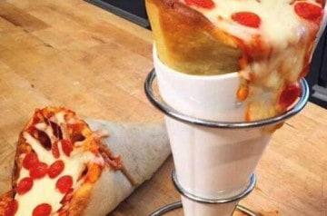 Exclusivité de Piconi : la pizza en forme de cône