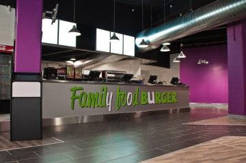 Family Food Burger,  100 %  halal