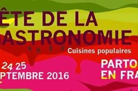 Fête de la gastronomie 2016 : rendez-vous en septembre