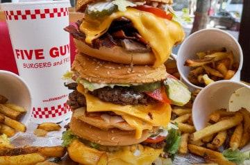 Five Guys: mais qu'est-ce qu'on y mange?