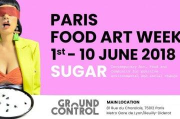 Food Art Week à Paris jusqu'au 10 juin 2018