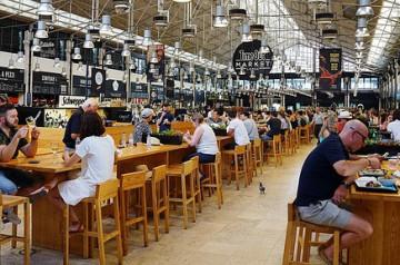 Food court, food hall et food market en France