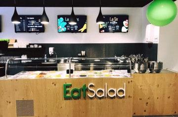 Franchise Eat Salad : un bar à salade où manger sain